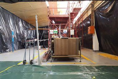 Snackworks 2 asbestos removal