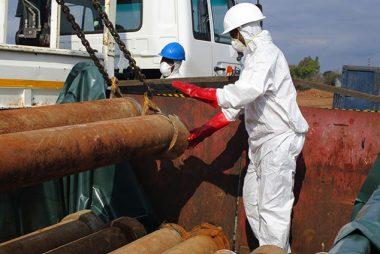 Ecotech MD Construction asbestos removal in progress