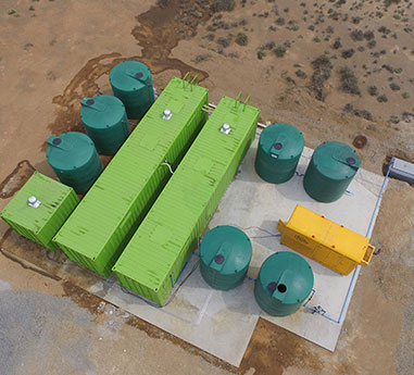 Container sewage Water Treatment