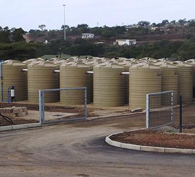 Sewage plant segregation