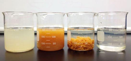 Coagulation water purification methods