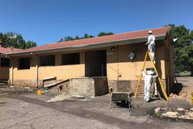 Anglo 1 asbestos cleaning