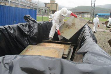 SAPPI1 asbestos removal