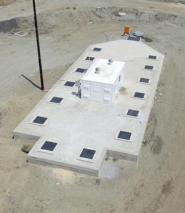 civil range water treatment