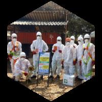 asbestos services, asbestos abatement, asbestos management plans, asbestos surveys, asbestos inventories, asbetos awareness, asbestos training, Ecotech Africa